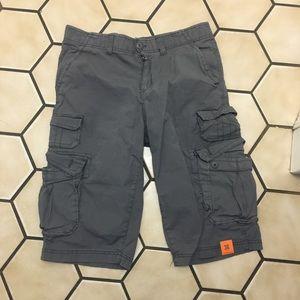 Men's urban pipeline cargo shorts